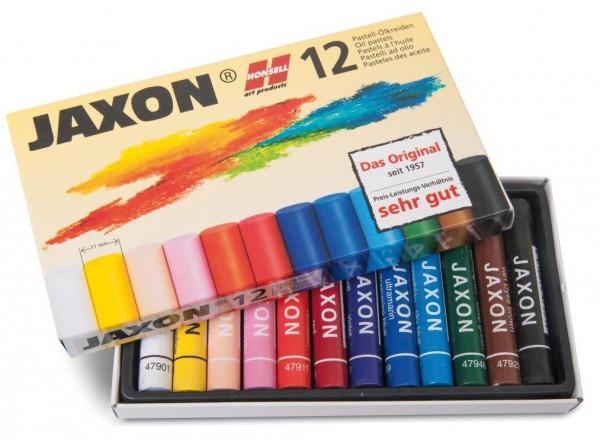 Jaxon Pastell-Ölkreide 12 Kreiden