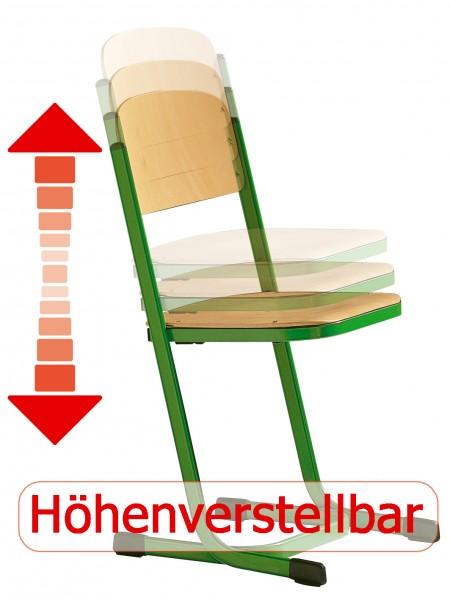 Schülerstuhl L Form Sitzhöhe Verstellbar Nach Din Norm