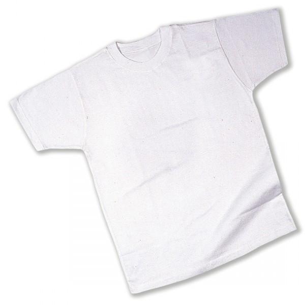 T-Shirt, Baumwolle, weiß, Gr. S