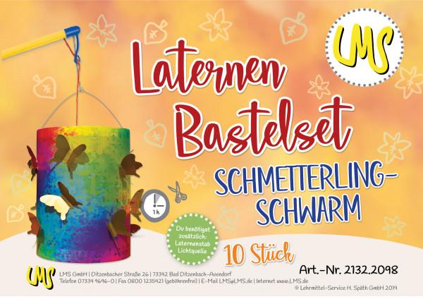 Laternen-Bastelset-Käseschachtel