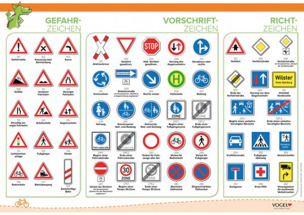 Verkehrszeichen für Fußgänger