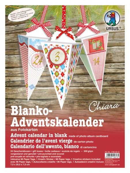 "Blanko-Adventskalender ""Chiara"""