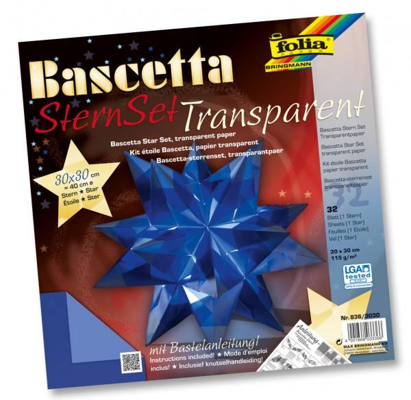 "Bascetta-Stern ""Transparentpapier"""