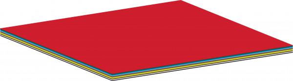 Tonpapier-Sortiment V, 100 Bogen,