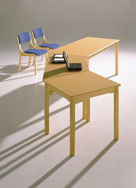 Tisch 80 X 80 Cm Schichtstoff Buche Quadratfuß 76 Cm Hoch Lms