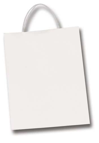 Papiertüten 20 Stück, 12x5,5x15 cm