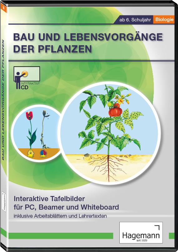 Bau und Lebensvorgänge der Pflanzen (Schul-Lizenz) | LMS Lehrmittel ...