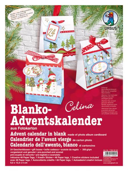 """Blanko-Adventskalender """"Celina"""""""