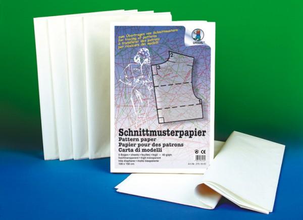 Schnittmusterpapier 5 Bogen | LMS Lehrmittel-Service H.Späth GmbH
